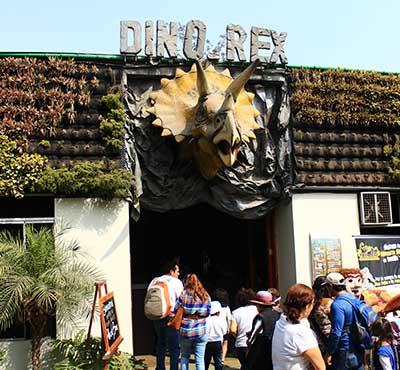 Dino Rex Restaurante llega al Zoo Huachipa