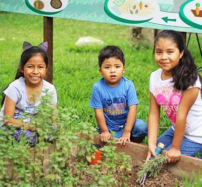 Niños aprenden en el Zoo Huachipa a cuidar el medio ambiente