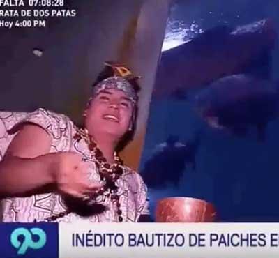 Zoo Huachipa: Inédito bautizo de paiches