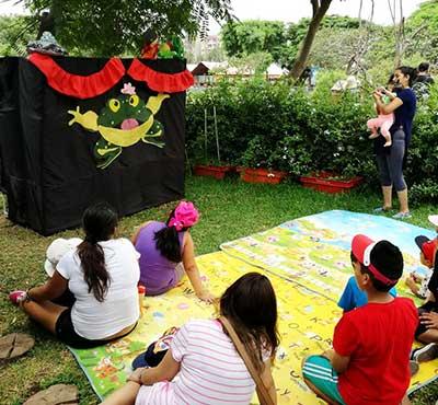Zoo Huachipa ofrece teatro infantil gratis a sus visitantes